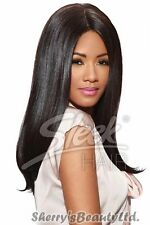 Sleek Fashion Idol Tongable Synthetic Hair Wig - IMAN