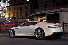Poster of Aston Martin DBS Left Rear HD Print Free Shipping