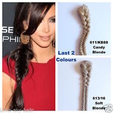 "Superior Quality Thick Fishtail Plait Braid Ponytail, 23"" Long, LIKE BeautyWorks"