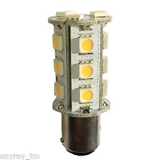 (1) 1157 BAY15D Dual Contact Offset Pins Soft White LED 40 41 42 50 Light Bulbs