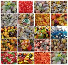 ASSORTED JELLIES SWEETS (INC LYONS) LOW POST, WE POST UP TO 600g FOR ONLY £1.30!