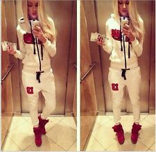 Black Star Timati White Hoodies&Pant Suits Athletic Apparel