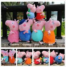 Peppa Pig George Dad Mom Pig Family Plush Toy Baby Peppa Pig Toys Stuffed Doll