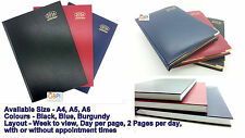 2015 Diary - A4/A5/A6 Week to view, Day a Page, appointments, 2 pages a day