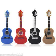 Cool guitar model USB 2.0 Memory Stick Flash pen Drive 4GB 8GB 16GB 32GB AP448