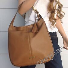 COACH Large Brown Leather Tan Tote Shoulder Hobo Bag Purse Handbag New Nwt