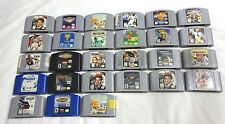 PICK ONE N64 Game CARTRIDGE ONLY Super Mario Bomber Man 64 99 Hawk 2 3 TESTED!