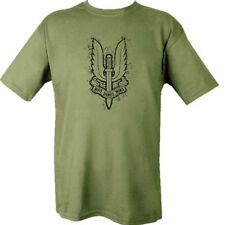 MILITARY SAS T-SHIRT 100% COTTON INFIDEL BRITISH ARMY WHO DARES WINS SPECIAL