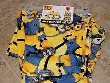 BNWT Despicable Me Men's Lounge Pajama PJs Pants Minions Dave Gru Stuart S-2XL