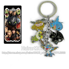 Hot NightFury Toothless How to Train Your Dragon Keychains Keyrings Pendant