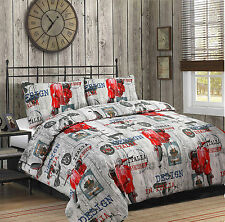 Duvet Quilt Cover with Pillowcase Bedding Set New Unique Design Italy Special