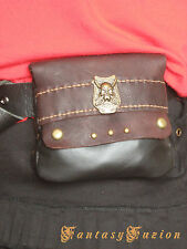 Steampunk Medieval Pirate Leather Belt Pouch