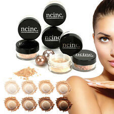 8pc Mineral Makeup Set :: Bare Naked Skin Minerals Foundation Kit by NCinc. Gift