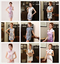 Chinese variety of Style women's Evening Gown Mini dress Cheongsam Dresses QP043