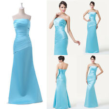 Graceful Ruched bodice Gown GK Evening Dress Formal Long Bridesmaid Prom Dresses