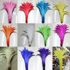 Wholesale 10/20/50/100 PCS decoloring rooster tail feathers 14-16 inches/35-40cm