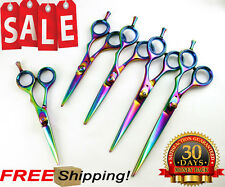 Professional Pet Dog Cat Grooming Scissors Hair Cutting Shears + Case