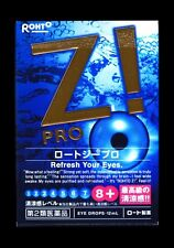 Rohto Z! Pro 12ml Japanese Medicated Eye Drops Ultimate Cooling Type