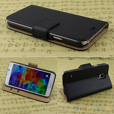 Luxury Phone Accessory Leather Flip Case Cover Wallet For Samsung Galaxy Models