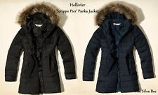 Hollister Navy Black Olive Parka Puffa Jacket Long Coat XS S M L XL RRP £140