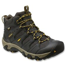 KEEN Men's Koven Mid WP Wide Hiking/Trail Boots Raven/Tawny Olive 1012123