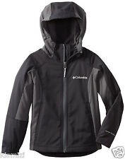 "NEW COLUMBIA BOY'S  ""Splash Flash"" HOODED SOFTSHELL JACKET OMNI-SHIELD NWT"
