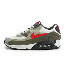Nike Air Max 90 Essential [537384-119] NSW Running White/Red-Beige Chalk