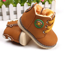 baby boys and girls thick cotton-padded shoes winter warm shoes 21-26 yards