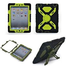 Pepkoo iPad 5/Air Silicone Protective Case Back Cover Kickstand iPad 2 3 4 Mini