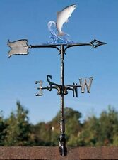 Fishermans Prize Trout Fish Weathervane Garden Stake or Rooftop Mount-Fisherman