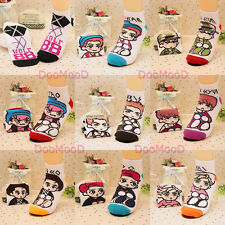 KPOP EXO All Member Socks XOXO Fashion Cotton Stockings EXO-M EXO-K Fan Gift SM