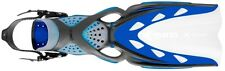 Mares X-Stream Blue Scuba Diving Snorkeling Dive Open Fins 410019