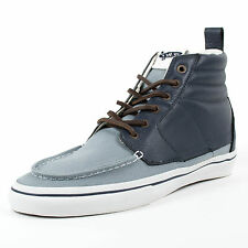 VANS SK8 HI BOAT LX NAVY CITADEL VN 0L9J4MW OFF THE WALL SKATEBOARDING