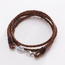Engraved Christmas Gift for Dad, Brother, Son,Uncle, Boyfriend. Leather Bracelet