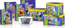 LUVS Diapers and Wipes Size 1, 2, 3, 4, 5, 6 CHEAP!!!