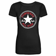 SEXY LADIES WOMEN CONVERSE PRINT VEST TOP T SHIRT SIZE 6, 8-10,12-14