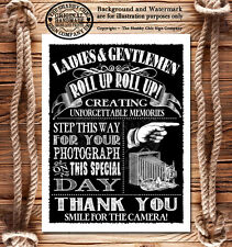 Vintage Style Wedding Sign~Photo Booth Photographer Photos~BUY ANY 2 GET 1 FREE!