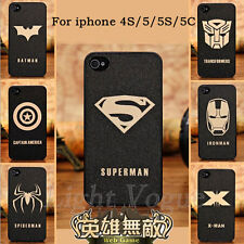 Hard Phone Back Skin Case Cover For Apple iPhone 5c 5s 4s 6 Plus