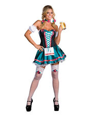 Heidi Hottie German Beer wench  girl SEXY Womens Halloween Costume NEW October
