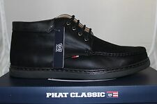 Men's Phat Farm Boston Shoes Black 617562C - 01A Brand New in Box