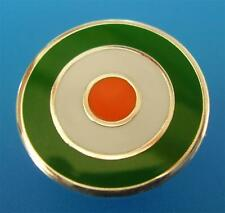 MOD TARGET BADGE - IN IRELAND - IRISH COLOURS - 12MM 16MM 20MM DIA