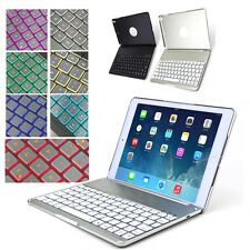 Newest QWERTY Bluetooth Keyboard Case For New iPad Air Ipad 5 Black/Gold/Silver