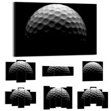 Canvas Print Framed Picture 47 Shapes Wall Art sport golf black white 1280 UA