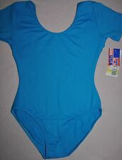 Nwt Adult size XS or Small-turquoise  Silkteck Dance Leotard- item #SIL87145