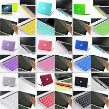 4in1 Matt Hard Case Cover Keyboard Cover +Plug For MacBook pro 13 and Retina Pro