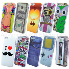 Hot Cute Various Pattern Hard Back Skin Case Cover For Apple Iphone 5/5S - Owl