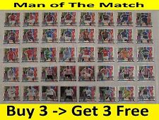 Match Attax 2014/15 Man of The Match Cards / Full Set (ALL 40) - 2014 2015 14/15