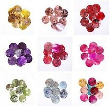 Wholesale Charm New 50pcs Mussel Shell Flat Round Coin Charm Beads 18mm 9colors