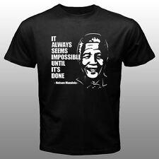 New Nelson Mandela Quote T-shirt