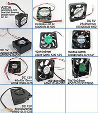 1pc ADDA Multi-Optional Sizes Styles DC Cooling fans Blower fans 20mm to 70mm
